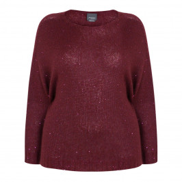 PERSONA BY MARINA RINALDI SEQUIN MOHAIR SWEATER - Plus Size Collection