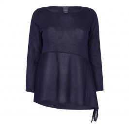 PERSONA NAVY LUREX SWEATER - Plus Size Collection