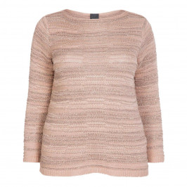 PERSONA BY MARINA RINALDI SWEATER PINK - Plus Size Collection