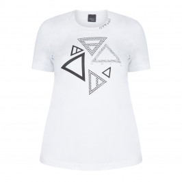 PERSONA BY MARINA RINALDI T-SHIRT WHITE - Plus Size Collection