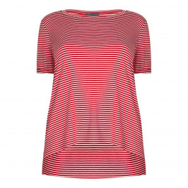 PERSONA red stripe T SHIRT - Plus Size Collection