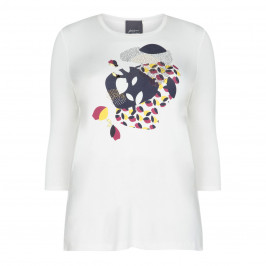 PERSONA BY MARINA RINALDI PRINTED TOP - Plus Size Collection