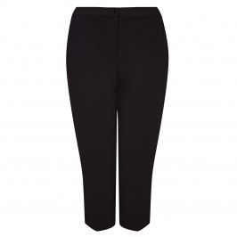 PERSONA BY MARINA RINALDI STRETCH JERSEY TROUSERS BLACK - Plus Size Collection
