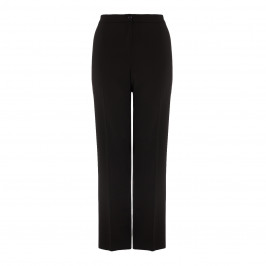 PERSONA BY MARINA RINALDI BLACK FRONT CREASE FRONT ZIP TROUSERS - Plus Size Collection