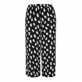 PERSONA BY MARINA RINALDI CROPPED PRINTED TROUSER - Plus Size Collection