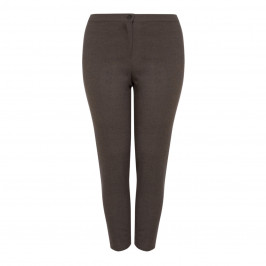 PERSONA BY MARINA RINALDI TAUPE TROUSER - Plus Size Collection