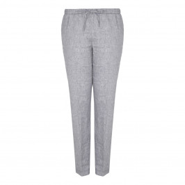 PERSONA linen twill TROUSERS - Plus Size Collection