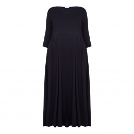 PIAZZA DELLA SCALA NAVY DRESS - Plus Size Collection