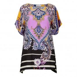 PIERO MORETTI pink silk Kaftan - Plus Size Collection