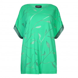 PIERO MORETTI jade devoré KAFTAN - Plus Size Collection