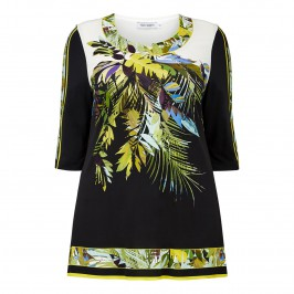PIERO MORETTI botanical print Tunic - Plus Size Collection