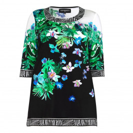 PIERO MORETTI embellished floral Tunic - Plus Size Collection