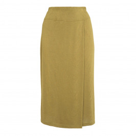BEIGE LABEL OLIVE JERSEY SKIRT - Plus Size Collection