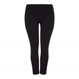 BEIGE LABEL BLACK TROUSER STRETCH - Plus Size Collection