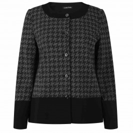 Luisa Viola Houndstooth JACKET - Plus Size Collection