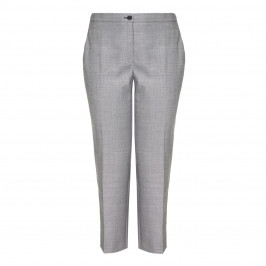 MARINA RINALDI SILK WOOL MIX TAILORED TROUSERS - Plus Size Collection