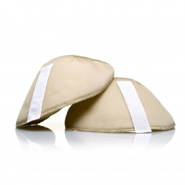 Beige Shoulder Pads - Nude - Plus Size Collection