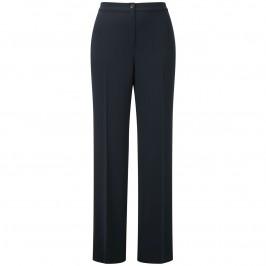 Marina Rinaldi navy parallel leg trousers - Plus Size Collection