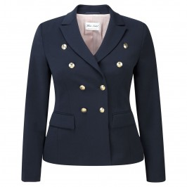 ROF AMO GOLD BUTTONS NAVY TAILORED JACKET - Plus Size Collection