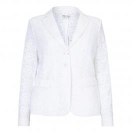 ROF AMO white lace JACKET - Plus Size Collection