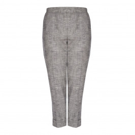 SALLIE SAHNE PRINCE OF WALES CHECK TROUSER  - Plus Size Collection