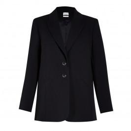 SALLIE SAHNE TRIACETATE BLAZER BLACK - Plus Size Collection