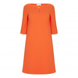 SALLIE SAHNE SHIFT DRESS WITH KEYHOLE NECKLINE - Plus Size Collection