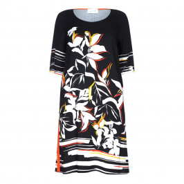 SALLIE SAHNE PRINT DRESS - Plus Size Collection