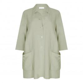 SALLIE SAHNE LONGLINE JACKET - Plus Size Collection