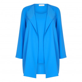 SALLIE SAHNE WATERFALL JACKET AND VEST TWINSET - Plus Size Collection