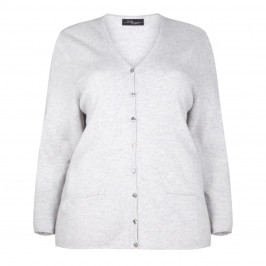 SANDRA PORTELLI PURE CASHMERE CARDIGAN - Plus Size Collection