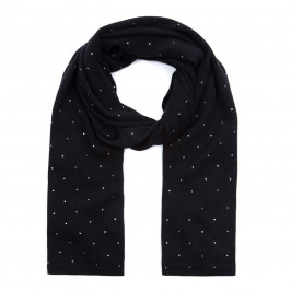 SANDRA PORTELLI EMBELLISHED CASHMERE SCARF  - Plus Size Collection