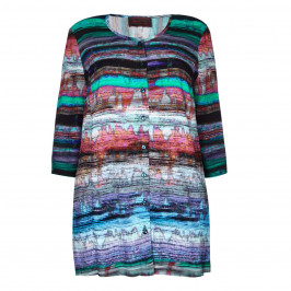 SEMPRE PIU multi crepe SHIRT - Plus Size Collection