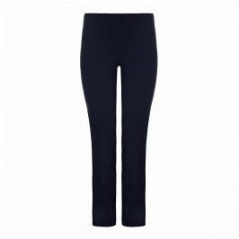 SEMPRE PIU NAVY Narrow LEG TROUSERS - Plus Size Collection