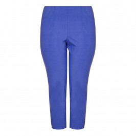 SEMPRE PIU ankle feature Cropped Trousers  - Plus Size Collection
