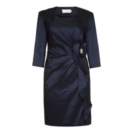Social Occasions navy Dress and Jacket - Plus Size Collection