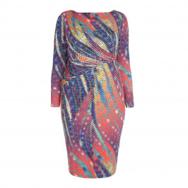 TIA DIGITAL PRINT DRESS - Plus Size Collection