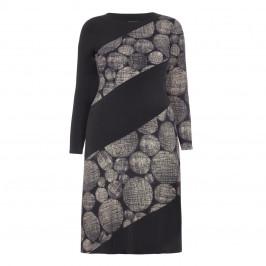 TIA A LINE SPOT PRINT DRESS - Plus Size Collection