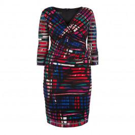 TIA BODYCON WRAP DRESS - Plus Size Collection