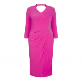 TIA BODYCON EMBELLISHED JERSEY DRESS - Plus Size Collection