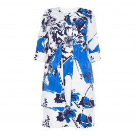 TIA PRINTED JACKET AND DRESS - Plus Size Collection