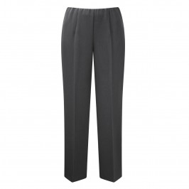 VERPASS CHARCOAL PARALLEL LEG TROUSERS - Plus Size Collection