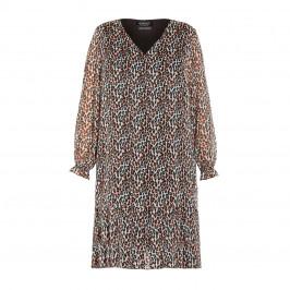 VERPASS ANIMAL PRINT DRESS - Plus Size Collection