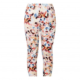 VERPASS ABSTRACT ANIMAL PRINT LEGGINGS - Plus Size Collection
