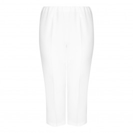 VERPASS CREAM PULL ON CULOTTE  - Plus Size Collection