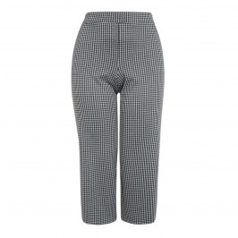 VERPASS HOUNDSTOOTH CULOTTE - Plus Size Collection