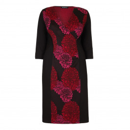 VERPASS FLORAL PRINT DRESS - Plus Size Collection