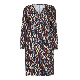 VERPASS STRETCH JERSEY DRESS - Plus Size Collection