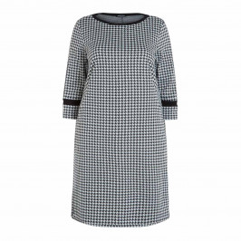 VERPASS HOUNDSTOOTH DRESS - Plus Size Collection