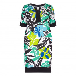 VERPASS floral print shift DRESS - Plus Size Collection
